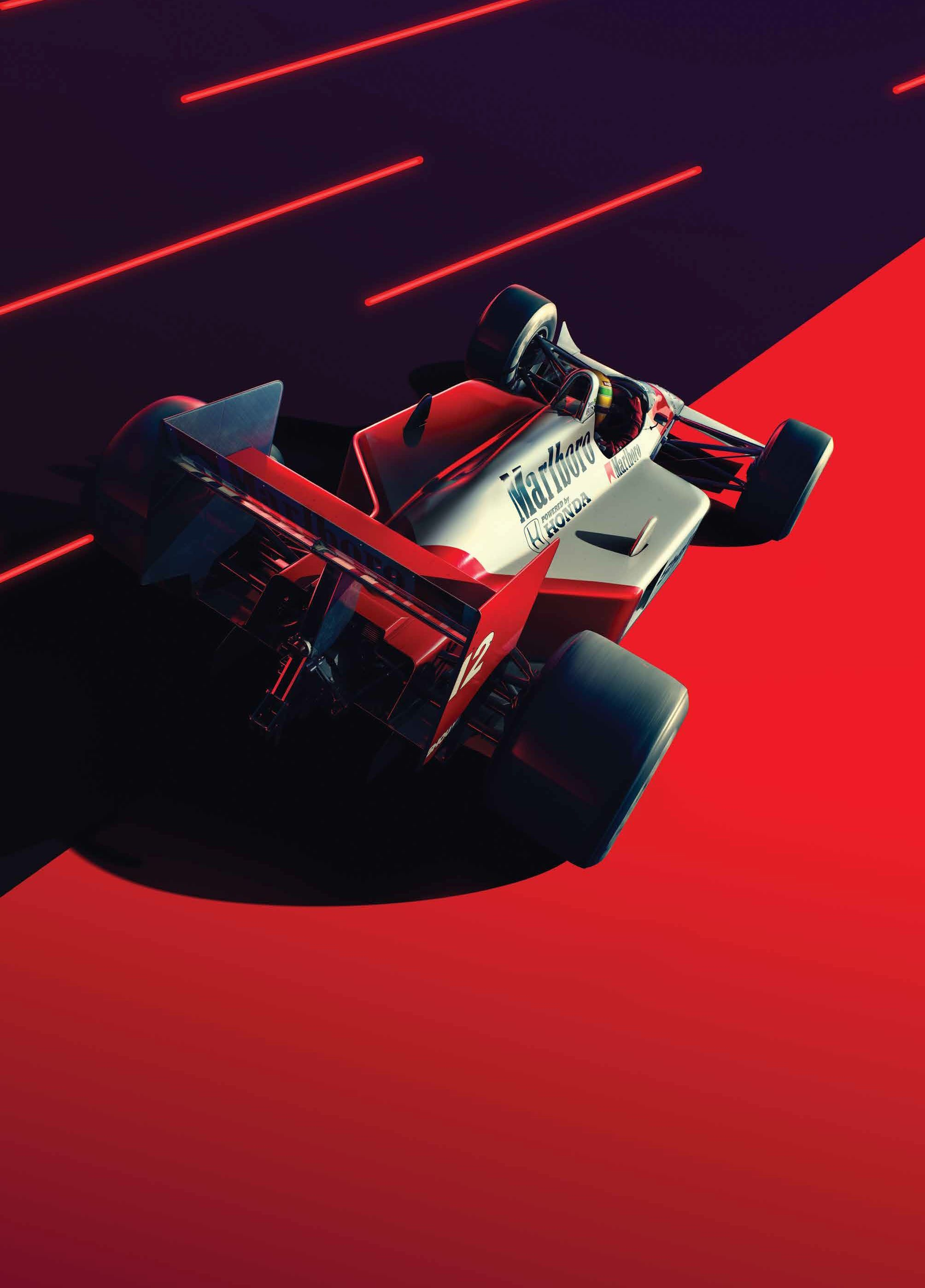 Mclaren And Unique Limited Launch Art Print And Posters Celebrating Ayrton Senna Ayrton Exposicao De Carros Antigos