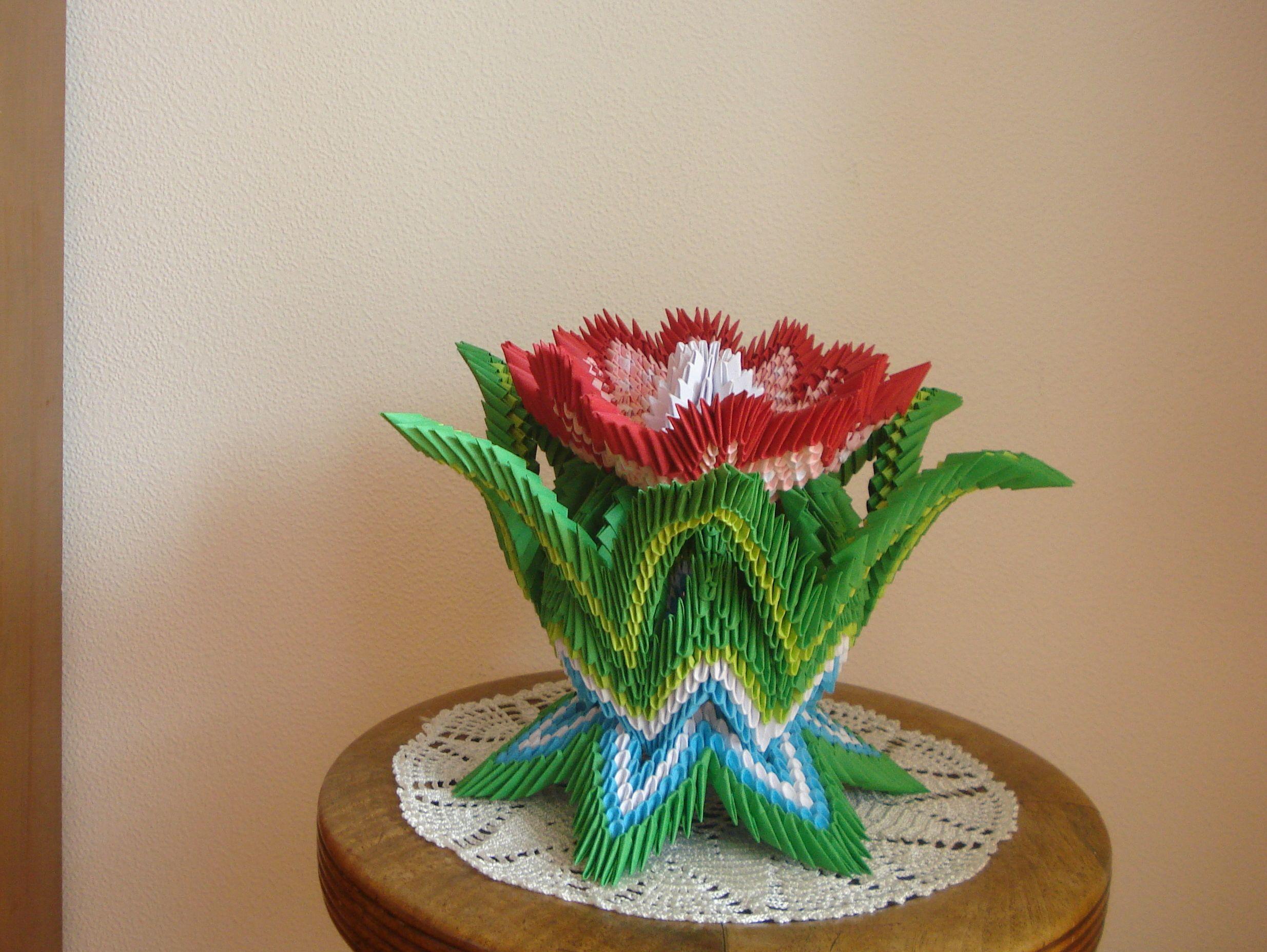 Kwiat Zrobiam Na Podstawie Zdjcia Ze Strony Origami Flowers