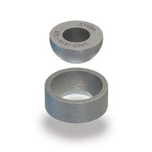 Lindapter 'HC' Hemispherical Cup. Eberl Iron Works, Inc. is a distributor of Lindapter Steel Connections and Steel Fixings.