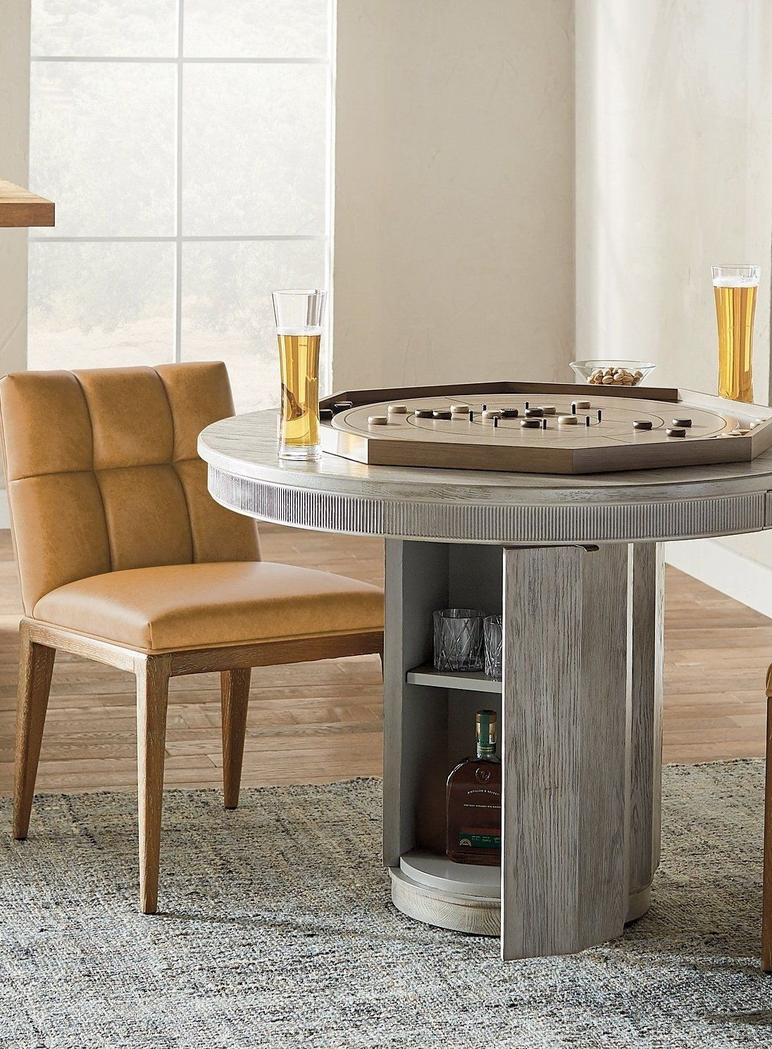 Rainier Round Dining Table   Frontgate   Round dining table ...