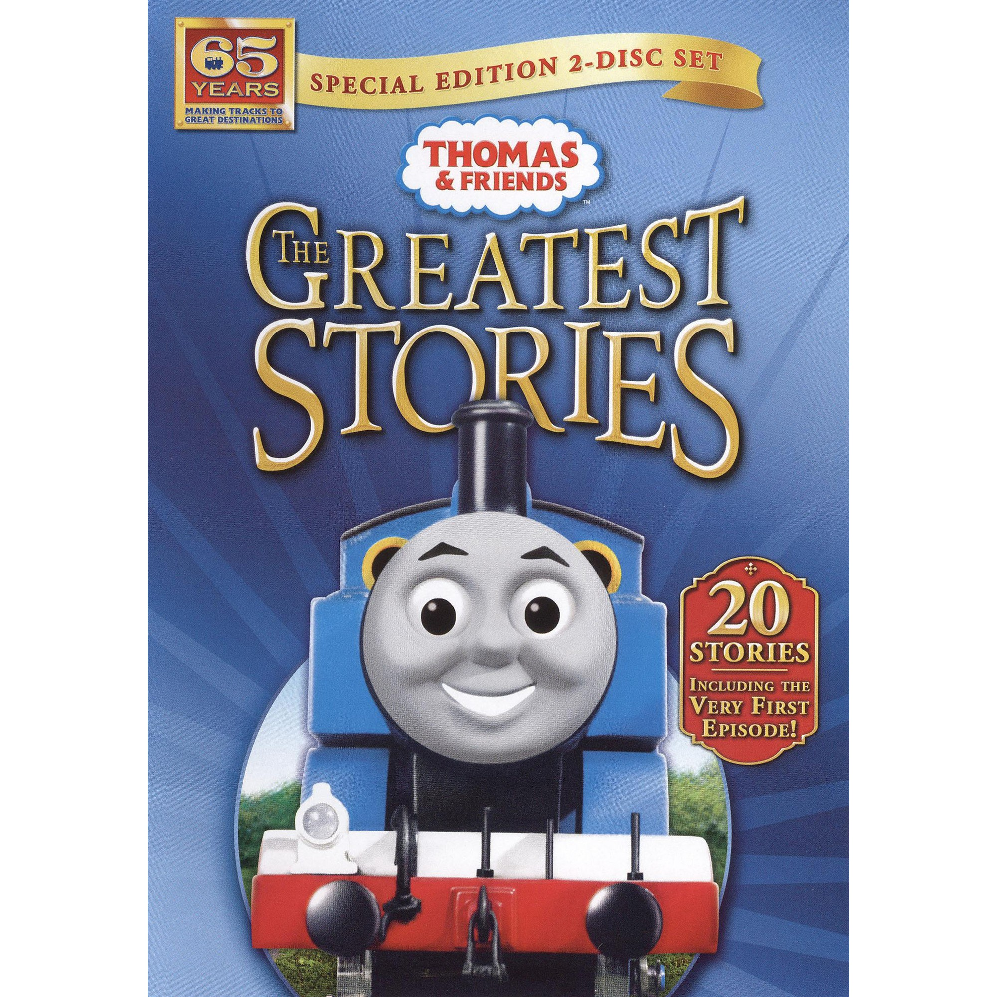 Thomas & Friends: The Greatest Stories (2 Discs) (dvd_video
