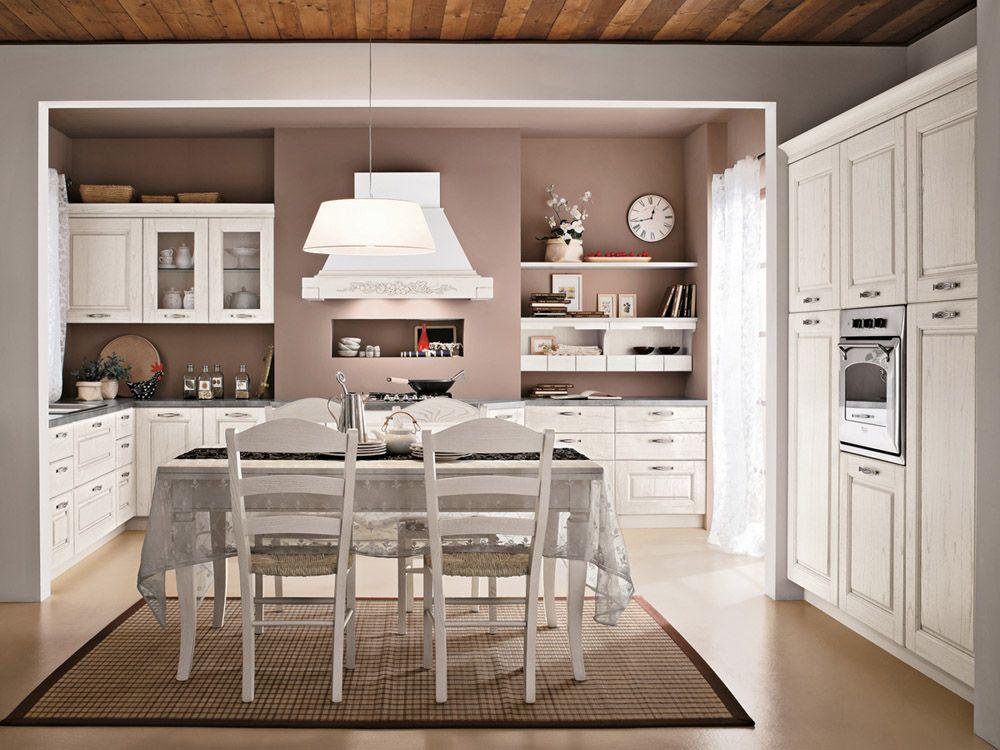 cucina ad u | casas prefabricadas | Pinterest | Shabby, Shabby chic ...