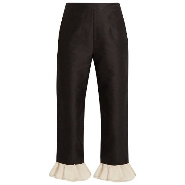 cropped tailored trousers - Black Isa Arfen Buy Cheap Purchase OiM2f