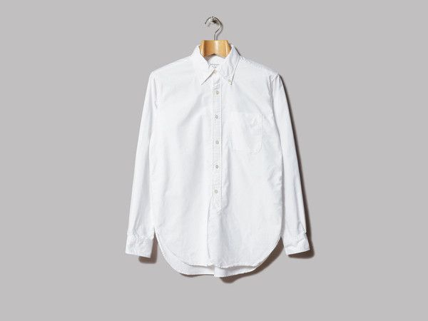 Engineered Garments 19th Century BD Shirt (White Heavy Oxford)