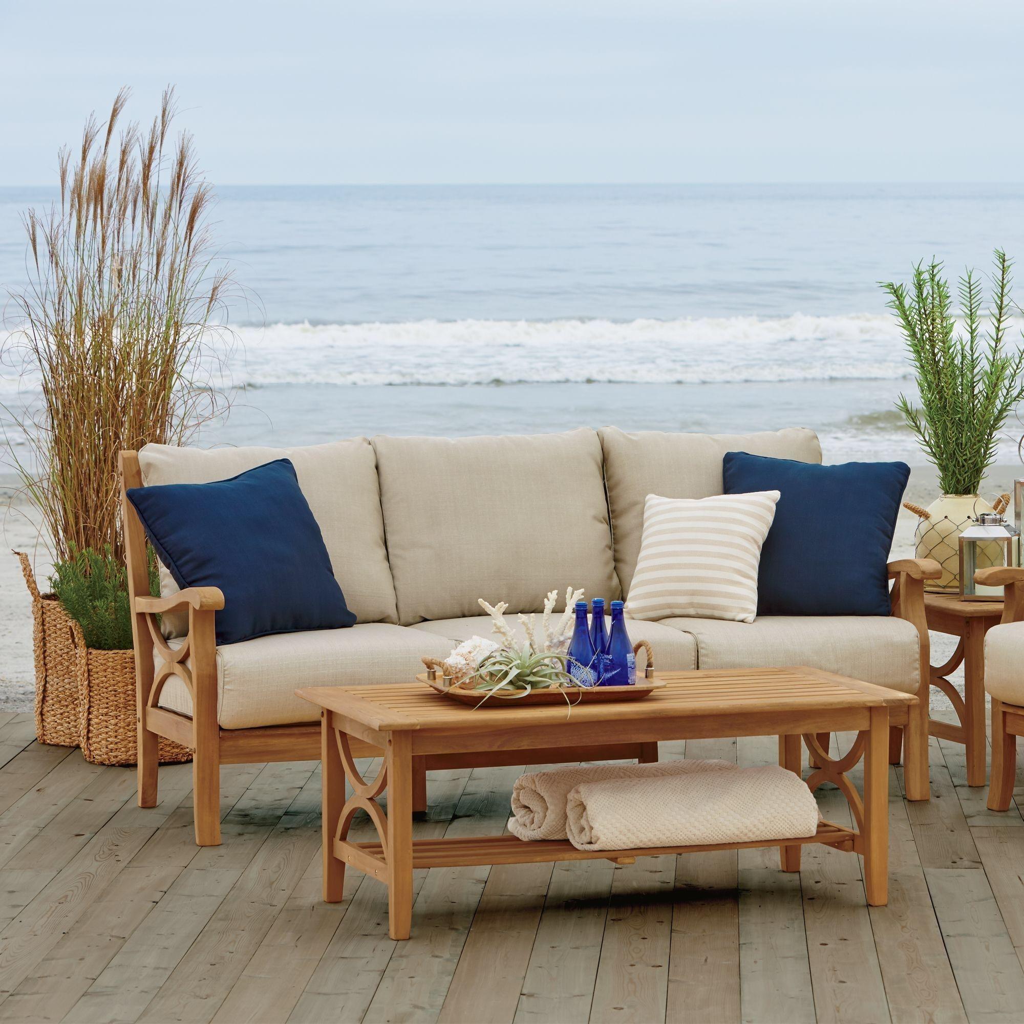 teak patio furniture teak sofa