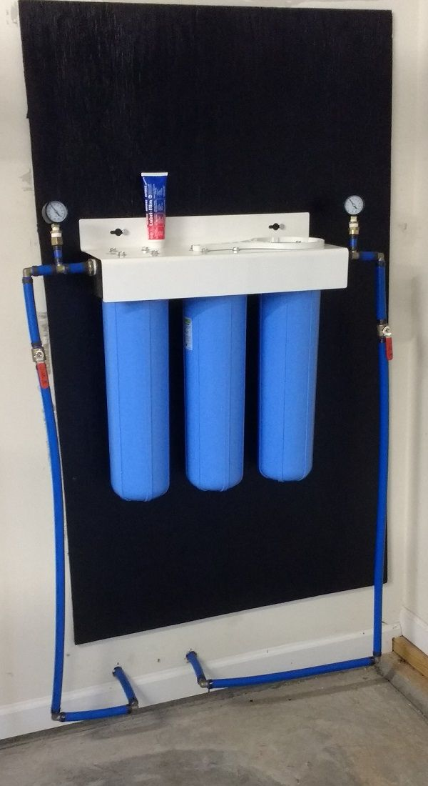 I Installed A 3 Stage Whole House Water Filtration System