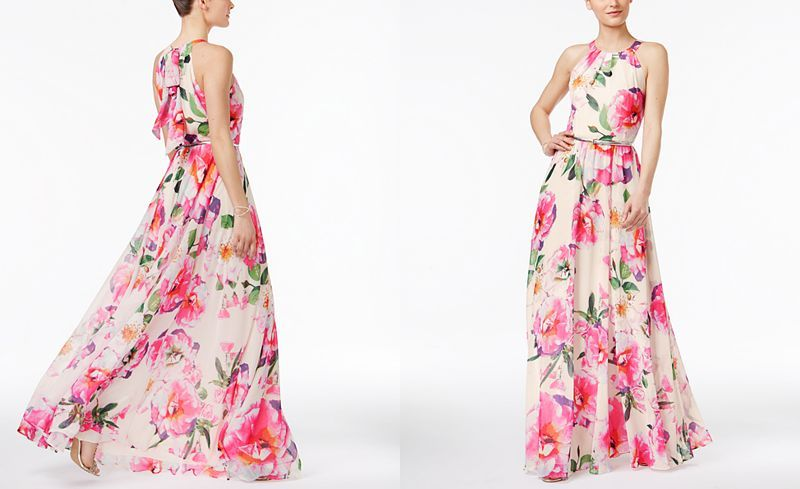 4e5ed3b1bd3 INC International Concepts Floral-Print Maxi Dress