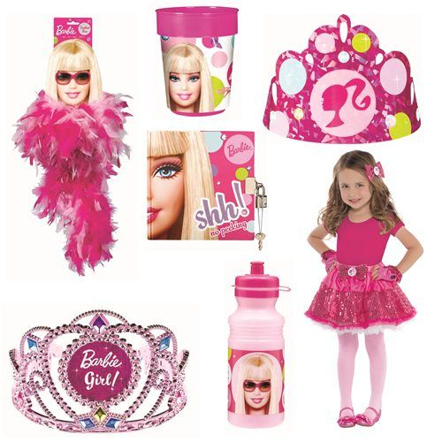 Barbie Zebra Theme 1st And 5th Birthday: Barbie Birthday Party Ideas