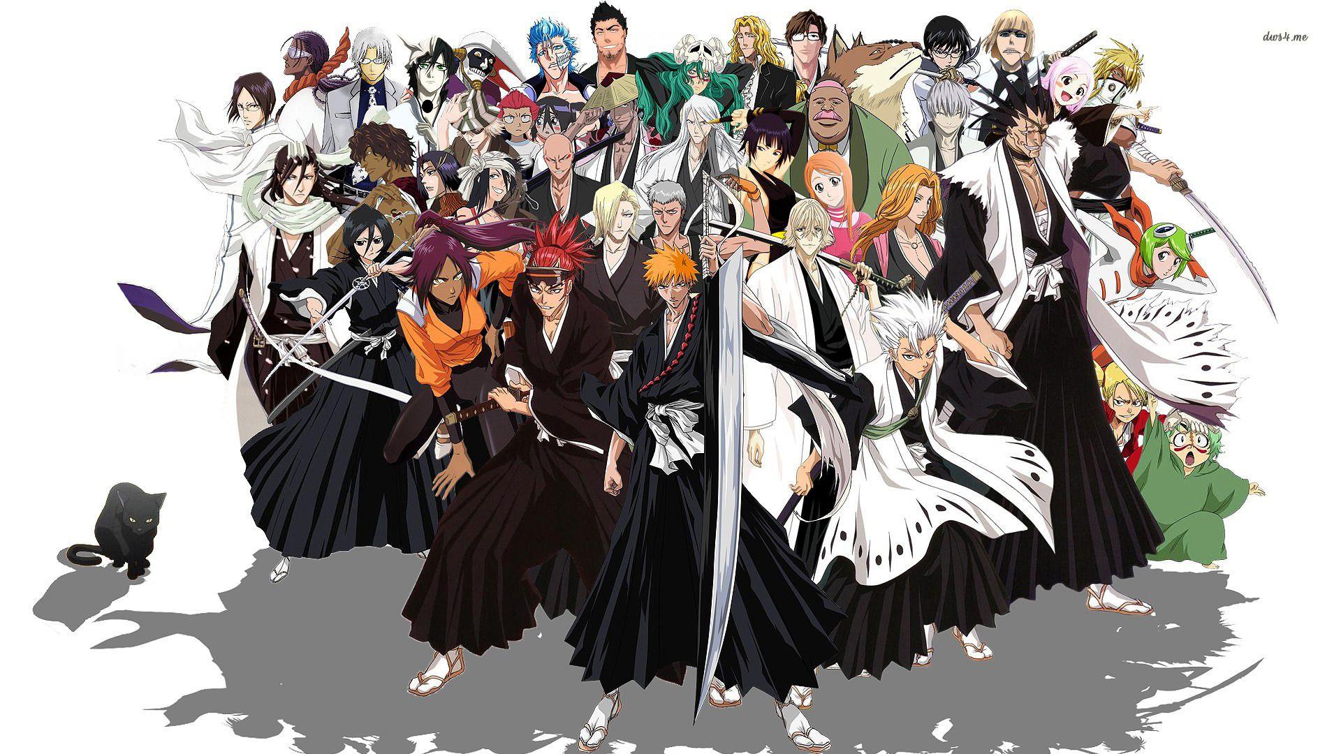 Google themes bleach - Bleach Hd Bleach Anime Wallpaper Collection Quantumotaku