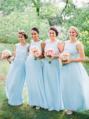 An Irish Garden Party In Ballyvolane Brides Blue Bridesmaids