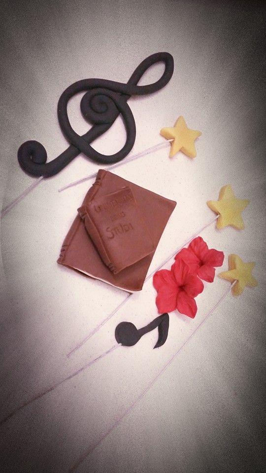 Decorazioni Musicali Per Torte Di Laurea Cake Design