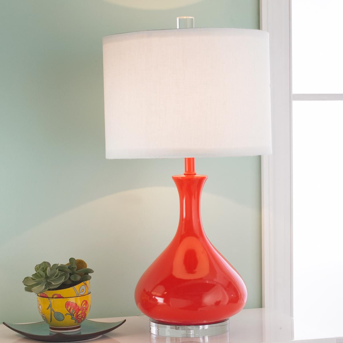 Bedroom Ceiling Lighting Ideas White Quilt Bedroom Ideas Blue Ceiling Bedroom Burnt Orange Bedroom Accessories: Ceramic Droplet Gourd Table Lamp