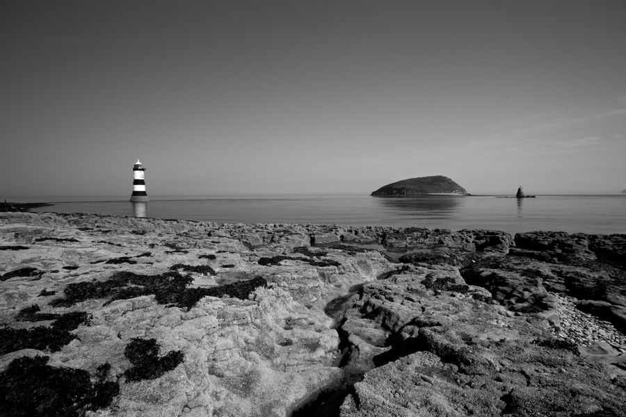 Penmon Lighthouse, Anglesey, Wales