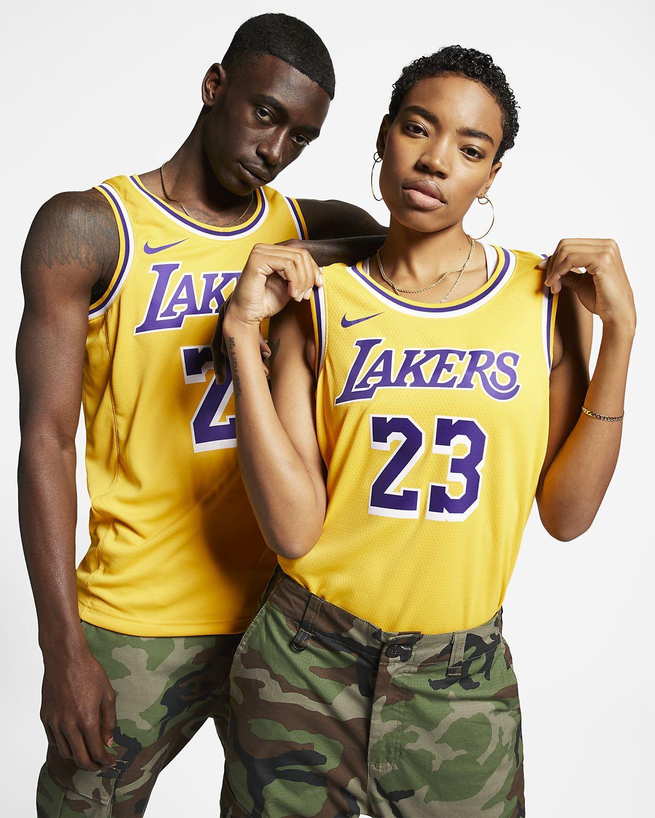 Lakers Icon Edition 2020 Nike Nba Swingman Jersey Nike Com In 2020 Lebron James Lakers Nba Swingman Jersey Basketball Jersey Outfit