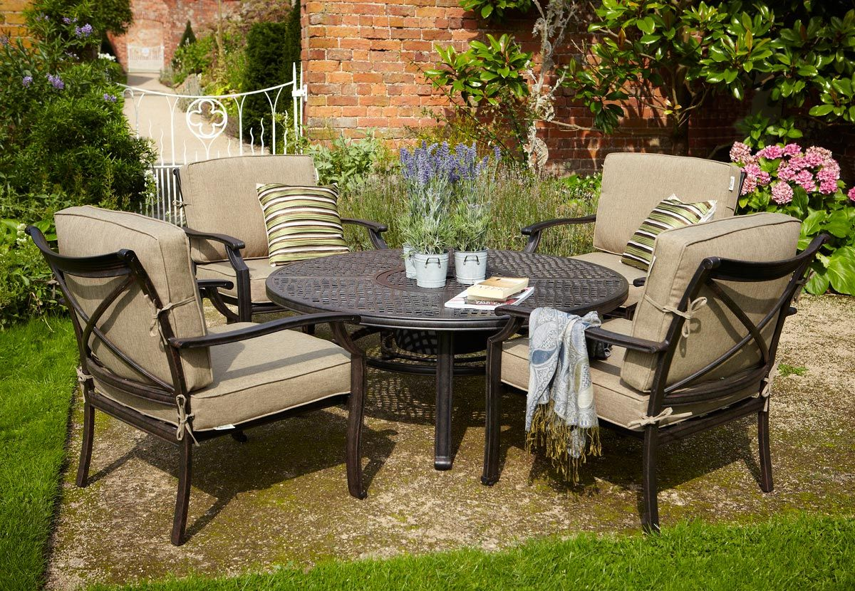 Garden Furniture Fire Pit hartman jamie oliver fire pit set - bronze | enjoy, met jamie