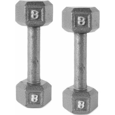 CAP Barbell Cast Iron Hex Dumbbell Pair