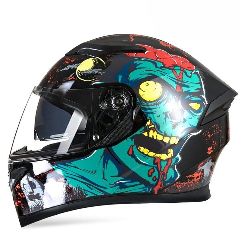 Full Face Moto Riding ABS Helmet