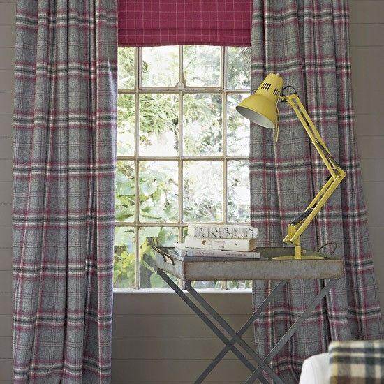 Land Tweed Wohnzimmer Wohnideen Living Ideas Interiors Decoration - wohnideen vorhnge wohnzimmer