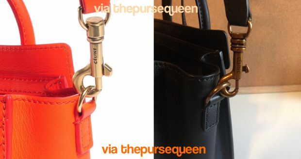 Can You Spot Fake Celine Bags  A Guide to Authentic vs. Replica Celine Nano  Bags 8399efe4cd10e