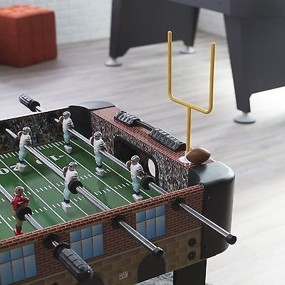 Foosball 36276: Voit 48 In. Football Stadium Foosball Table BUY IT NOW ONLY: