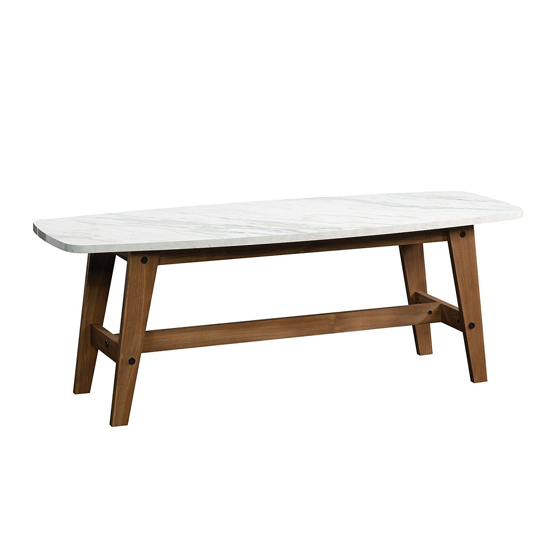 Amazon Com Sauder Soft Modern Cocktail X2f Coffee Table In Fine Walnut Finish Kitchen Amp Dining Coffee Table Modern Coffee Tables Marble Coffee Table [ 1500 x 1500 Pixel ]