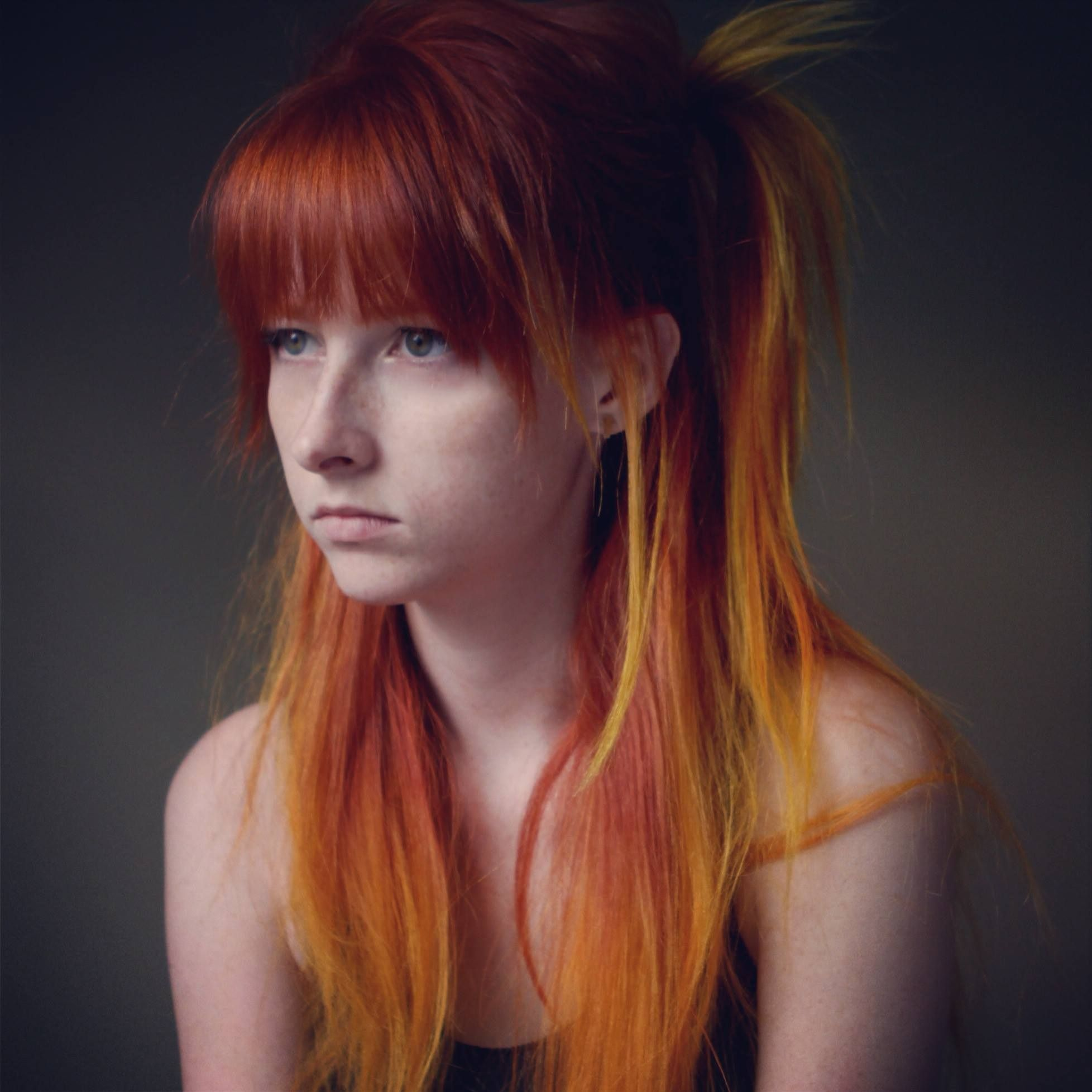 Fire hair, Tessa Violet aka Meekakitty | Meekakitty | Fire ...