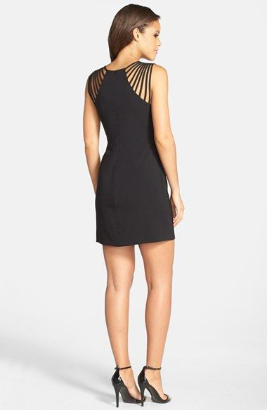 c5f8a389 Dress the Population 'Cora' Strappy Shoulder Sheath Dress available at # Nordstrom