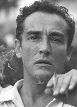 Vittorio Gassman Portrait Noir Et Blanc Actrice Actrice Italienne