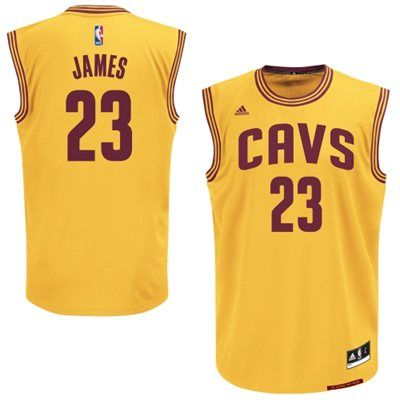 online retailer 2e0ab 59131 Youth Cleveland Cavaliers LeBron James adidas Replica ...