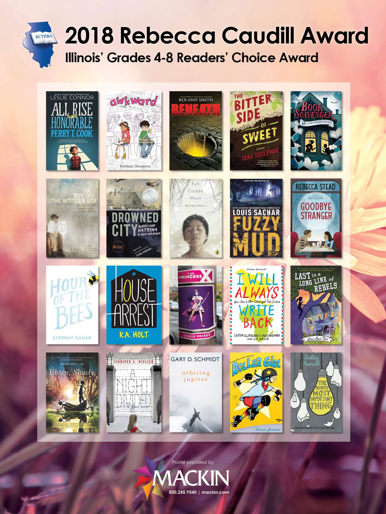 2018 Rebecca Caudill Award Reading Is Not Just For Kids Books