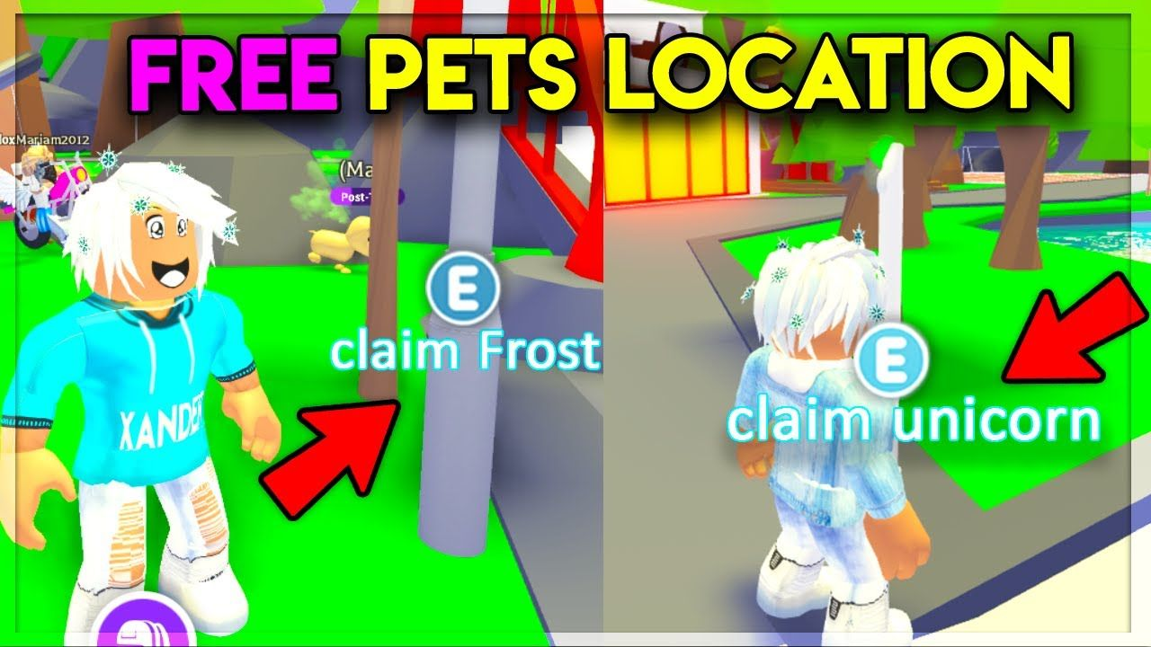 Secret Locations For Free Legendary Pets In Adopt Me Secret Location Pet Hacks Adoption