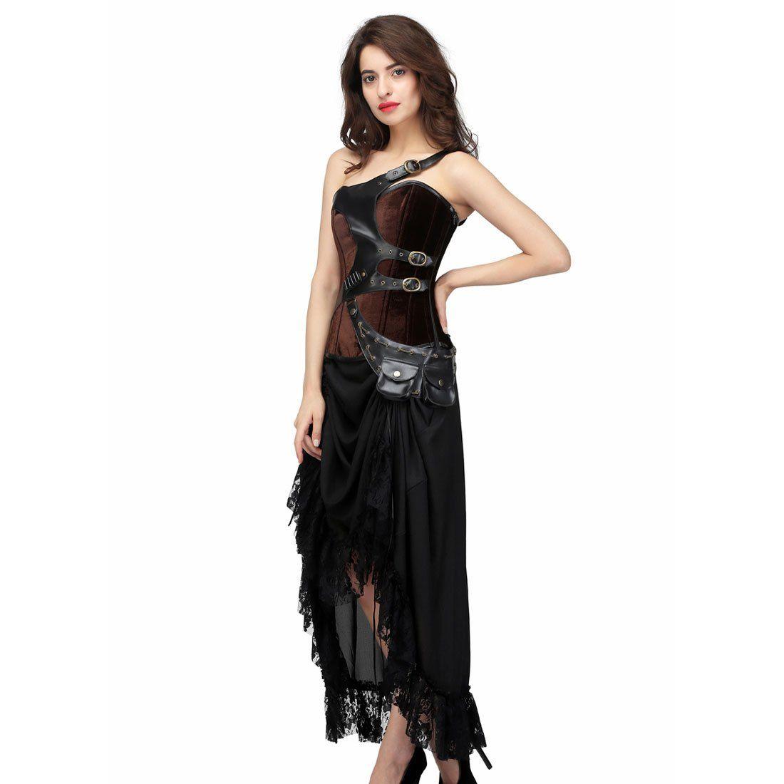 32++ Steampunk wedding dress corset ideas