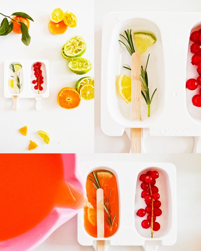 Fancy Popsicles #campari #mojito #frozen