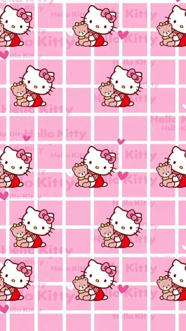 Aplikasi Bbm Hello Kitty : aplikasi, hello, kitty, Hello, Kitty, Wallpaper, Wallpaper,, Backgrounds,