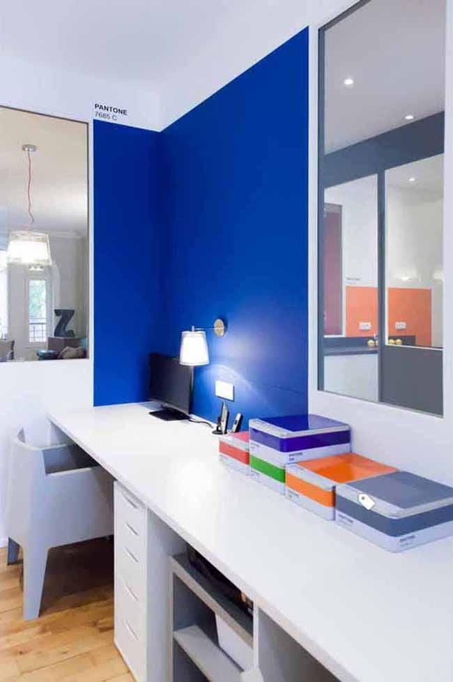 37 examples of color psychology on room interiors blue on blue office color id=39249
