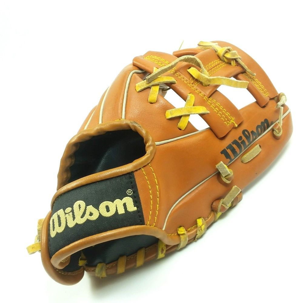 Wilson Baseball Glove A2291 As1 Youth Left Hand 9 Inch Mitt Leather Tee Ball Wilson Baseball Helmet Cleveland Indians Baseball Indians Baseball