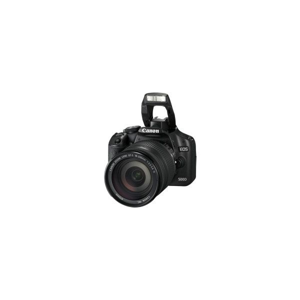 Canon - EOS 500D ❤ liked on Polyvore