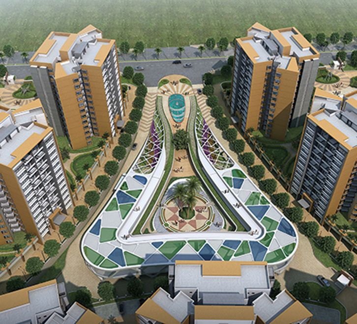 Welcome to Long Island At Pride World City 1 BHK flats ...