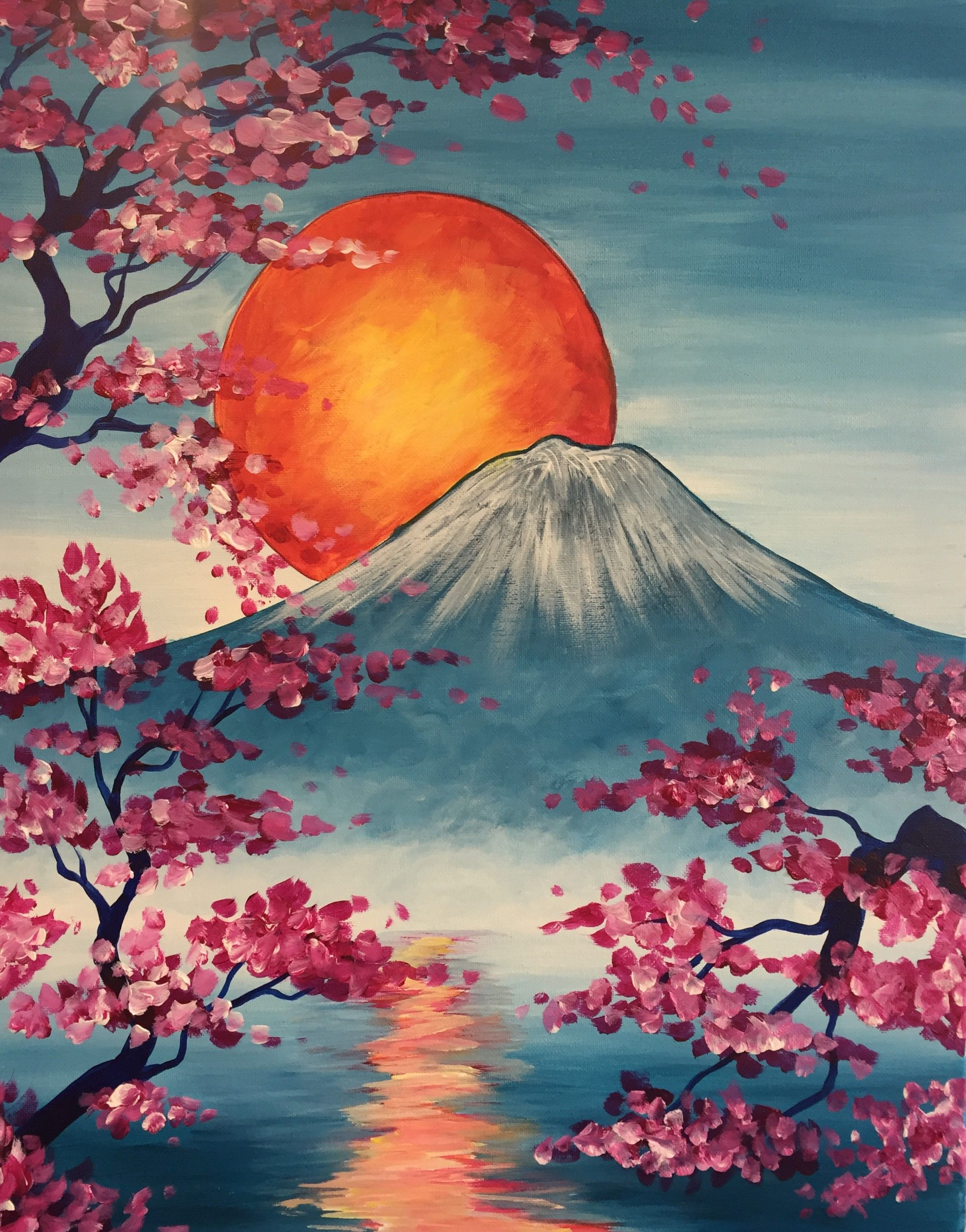 Cork And Canvas Mt Fuji Pottery Factory Brookfield Cork And Canvas Mt Fuji Pottery Factory Brookfield Bring Japanese Painting Painting Van Gogh Paintings