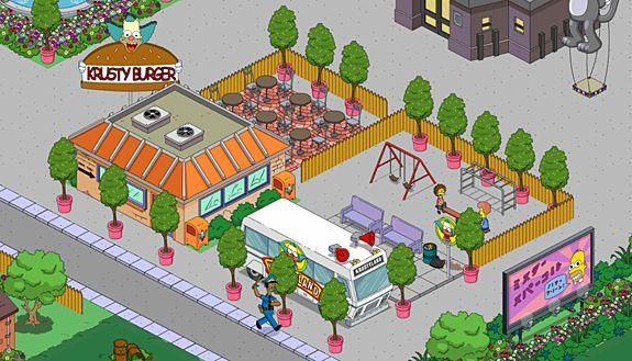 krusty burger - navetta krustyland