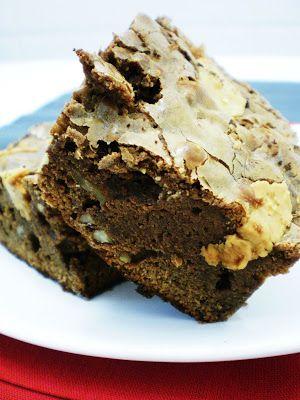 Brownies com Pecã e Manteiga de Amendoim | Figos & Funghis