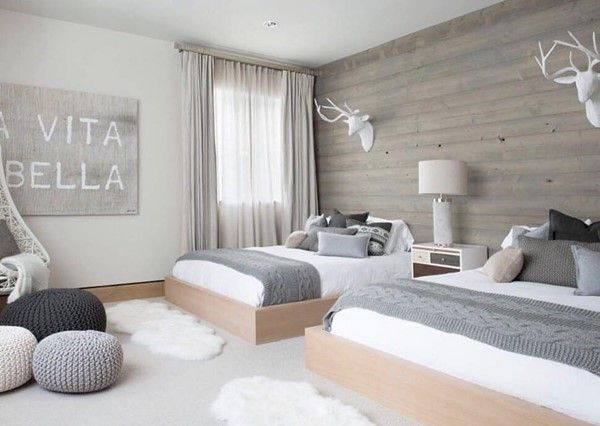 shared bedroom boy and girl decorating ideas-29 Lila bedroom ideas - Wohnzimmer Modern Lila