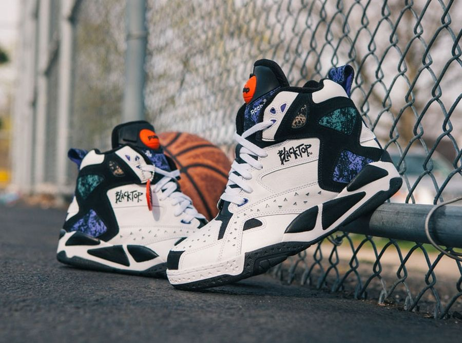 innovative design f6234 43110 reebok blacktop retros 2014 04 A Detailed Look at the Reebok Pump  Battleground Retro