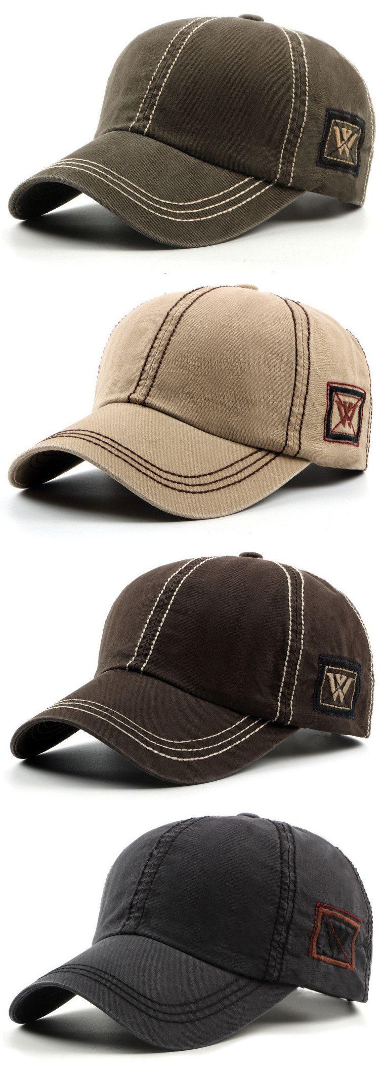 Fashion Mens Unisex Cotton Baseball Hat Casual Sport Visor Snapback ...