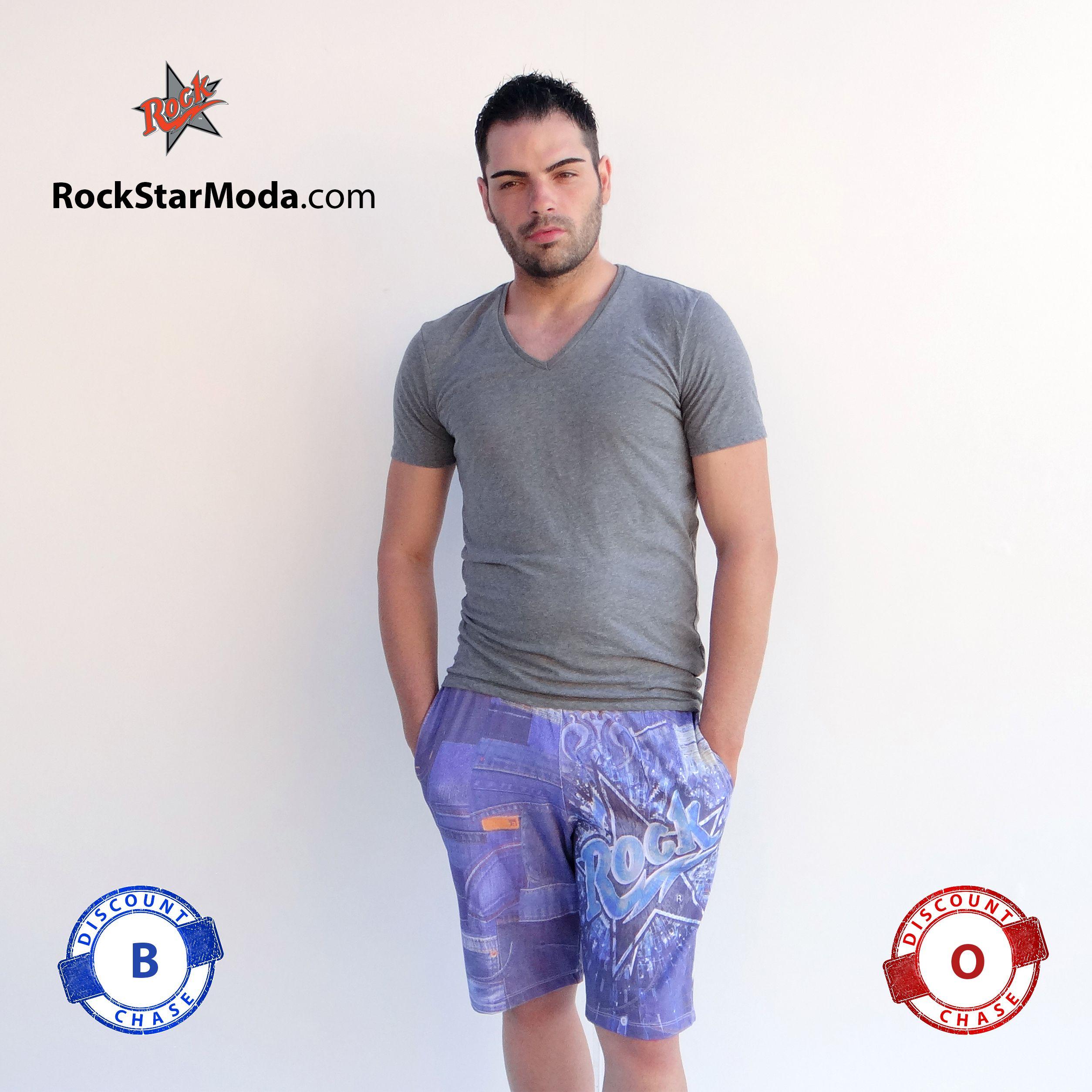 2bbf96b800 Pantalones cortos estampados para hombres y mujeres.Consigue un descuento  de hasta 45%,