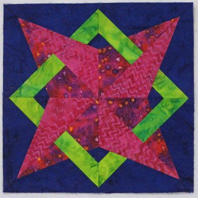 woven plaids & stripes star quilt block, by becky brown, on ... : 12 inch quilt blocks - Adamdwight.com