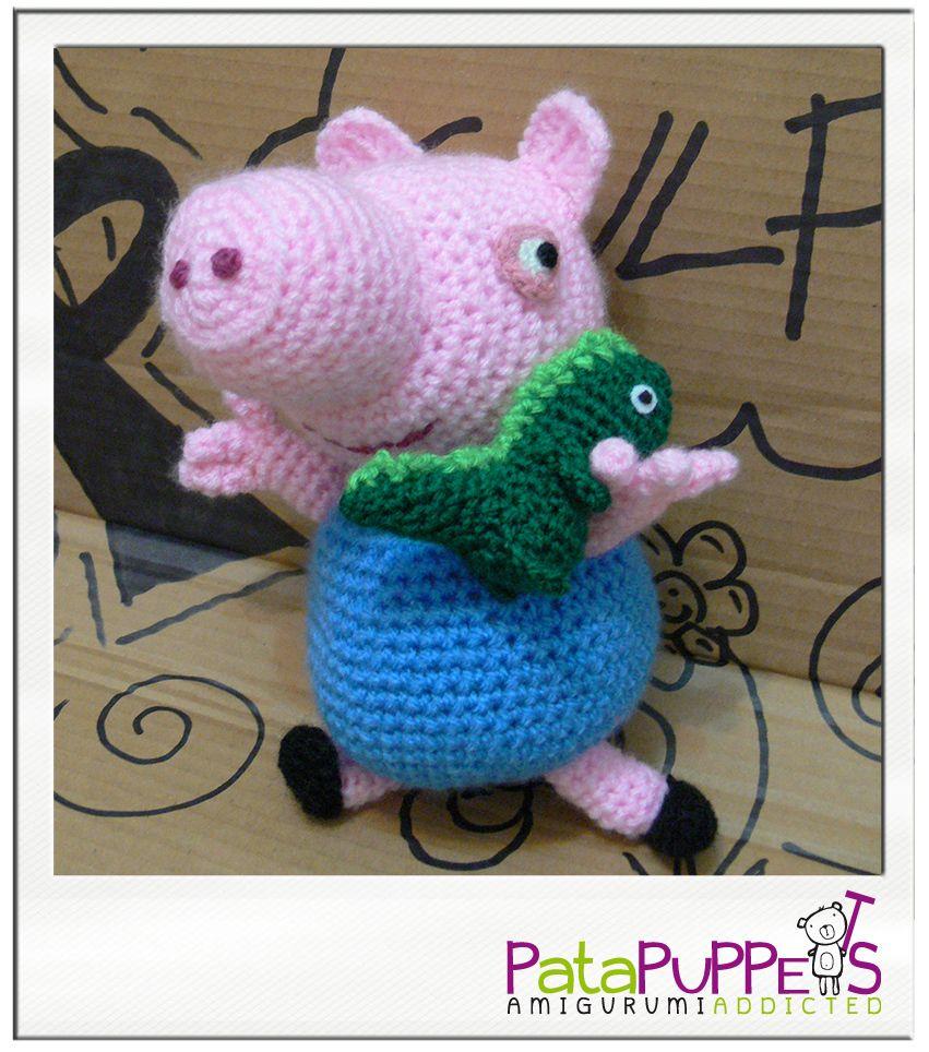 Peppa Pig y su osito amigurumi tutorial. - YouTube   964x851