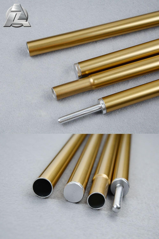 Gold Aluminum Tent-Pole & Gold Aluminum Tent-Pole   Aluminum Collapsible Tent Pole   Tent ...
