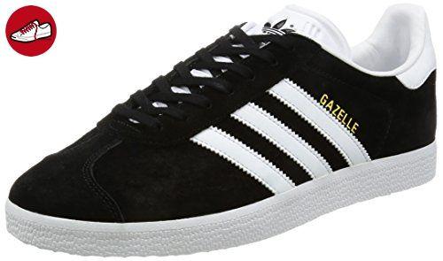new arrival 68612 e9191 adidas Unisex-Erwachsene Gazelle Sneakers, Schwarz (Core BlackWhiteGold  Met