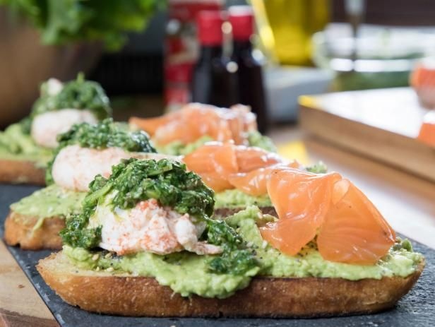 Spiced Avocado Toast With Citrus Cured Salmon And Poached Egg Recipe Avocado Toast Food Network Recipes Food Recipes